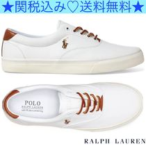 ★Polo Ralph Lauren★Thorton ロートップスニーカー★