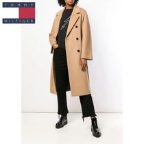Tommy Hilfiger★belted double breasted coat★国内発送