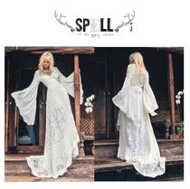 ☆SPELL☆ THE GWENDOLYN WRAP GOWN