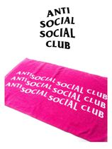 Anti Social Social Club ASSC Towel