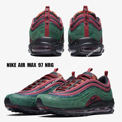 new concept f4167 3870d NIKE★AIR MAX 97 NRG★タータンチェック★MIDNIGHT SPRUCE