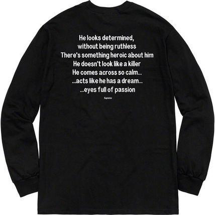 Supreme Tシャツ・カットソー 【WEEK10】AW18 Supreme(シュプリーム) THE KILLER L/S TEE(3)
