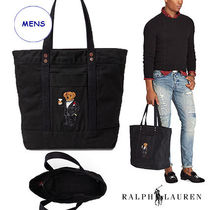 【大人気ポロベアー】Ralph Lauren★Martini Bear Canvas トート