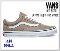 VANS(バンズ) スニーカー 【新色】バンズVANS Old Skool/Desert Taupe True White