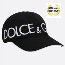 【Dolce & Gabbana】新作ロゴキャップ black【関税込み】