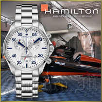 送料関税追跡込★Hamilton Khaki Pilot Chrono Watch H76712151
