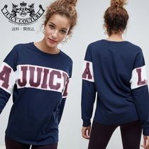 Juicy By Juicy Couture ロングライン ロゴ長袖Tシャツ