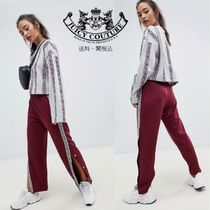 Juicy By Juicy Couture ロゴテーピング トリコットスーツパンツ