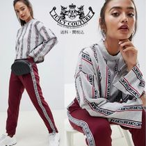 Juicy By Juicy Couture ストライプロゴ ハイネックスウェット