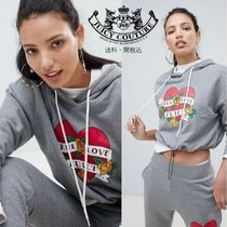 Juicy By Juicy Couture ハートロゴ クロップパーカー