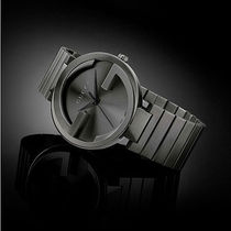 GUCCI Interlocking Grey PVD YA133210
