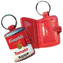 Campbell's(キャンベル) キーホルダー・キーリング Campbell's Tomato Soup Leather Key Chain キーチェーン