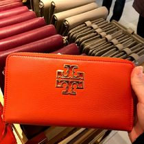 Tory Burch Britten Continental Wallet 長財布★オレンジ