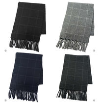 ラルフローレン マフラー PC0230 REVERSIBLE WINDOWPANE SCARF