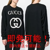 GUCCI☆GGプリント 送関込スウェット