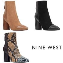 Nine West*異素材切替え*美脚*ショートブーツ/Cabrillo Booties