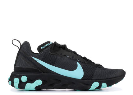 Nike スニーカー 入手困難!Nike ナイキ  React Element 55  Black Aurora Green(2)