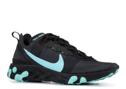 Nike スニーカー 入手困難!Nike ナイキ  React Element 55  Black Aurora Green(3)