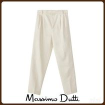 MassimoDutti♪WINTER CAPSULE HIGH-RISE SLIM FIT DARTED JEANS