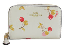COACH Cherry Small Zip Coin Case F31900