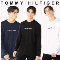 TOMMY JEANS クルーネック ロゴ トップス 国内買付 ギフトにも