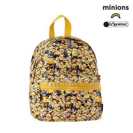 LeSportsac バックパック・リュック LeSportsac★WANDERER BACKPACK in LOTS OF MINIONS ミニオンズ