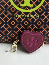 TORY BURCH★LOGO HEART KEY FOB*小銭入り