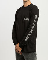 RVCA(ルカ) スウェット・トレーナー RVCA REFLECTOR LONG SLEEVE T-SHIRT 3色