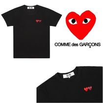 COMME des GARCONS PLAY lady's ダブルハート Tシャツ