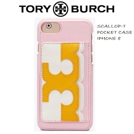 【Tory Burch】SALE! SCALLOP-T POCKET iPhone8 ケース