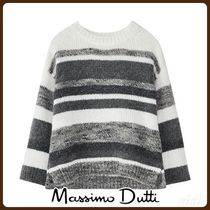 MassimoDutti♪WINTER CAPSULE STRIPED CAPE-STYLE SWEATER