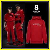 ★【8 MONCLER PALM ANGELS】FELPA ★スウェットパーカー♪