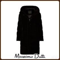 MassimoDutti♪WINTER CAPSULE LONG VELVET DOWN JACKET