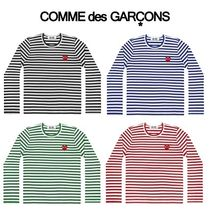 COMME des GARCONS PLAY lady's ボーダー  ロング Tシャツ