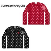 COMME des GARCONS PLAY lady's ドット ロングTシャツ
