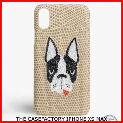THE CASE FACTORY スマホケース・テックアクセサリー 関税送料込☆THE CASEFACTORY☆IPHONE XS MAX スワロフスキー