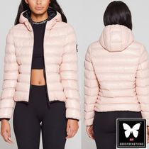 GOOD FOR NOTHING(グッドフォーナッシング) ダウンジャケット・コート 送料無料☆ Good For Nothing☆Climate Pink Puffer Jacket