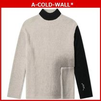 A-COLD-WALL(アコールドウォール) ニット・セーター A-COLD-WALL* /  RIGHT ANGLE CREW KNIT