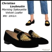 *ルブタン*Morning Sakouette Velvet Loafer 関税/送料込