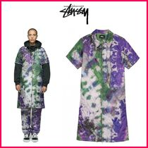 18-19AW!!☆STUSSY☆CURTIS TIE DYE QUILTED DRESS