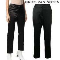 【18AW】★Dries Van Noten★Paola velvet cropped trousers