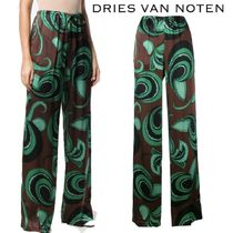【18AW】★Dries Van Noten★Puvi printed trousers