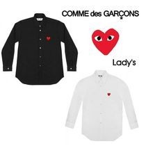 COMME des GARCONS PLAY lady's ハートロゴ シャツ