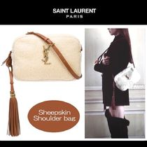 【雑誌掲載】★Saint Laurent★LOU★シアリング★shoulder bag♪