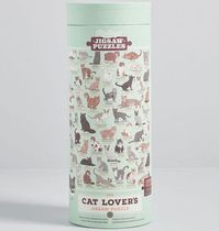 modcloth(モドクロス) ゲーム A Purr-fect Fit Cat Jigsaw Puzzle 猫 パズル
