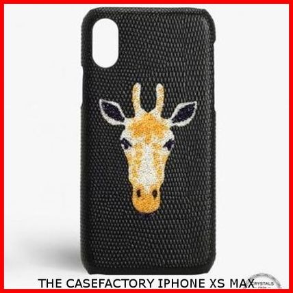 THE CASE FACTORY スマホケース・テックアクセサリー 関税送料込☆THE CASEFACTORY☆IPHONE XS MAX スワロ キリン