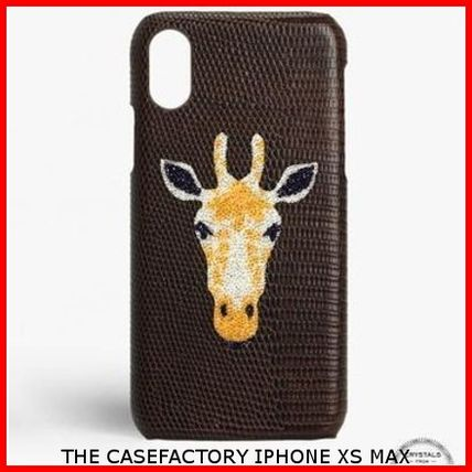THE CASE FACTORY iPhone・スマホケース 関税送料込☆THE CASEFACTORY☆IPHONE XS MAX スワロ キリン