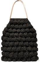 Barranco crocheted cotton and Lurex-blend tote トートバッグ