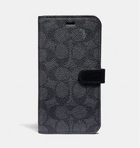 Coach ◆ 39598 iPhone 7/8 Plus folio Signature Leather