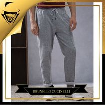 BRUNELLO CUCINELLI(ブルネロクチネリ) メンズ・ボトムス BRUNELLO CUCINELLI|French terry sweatpants